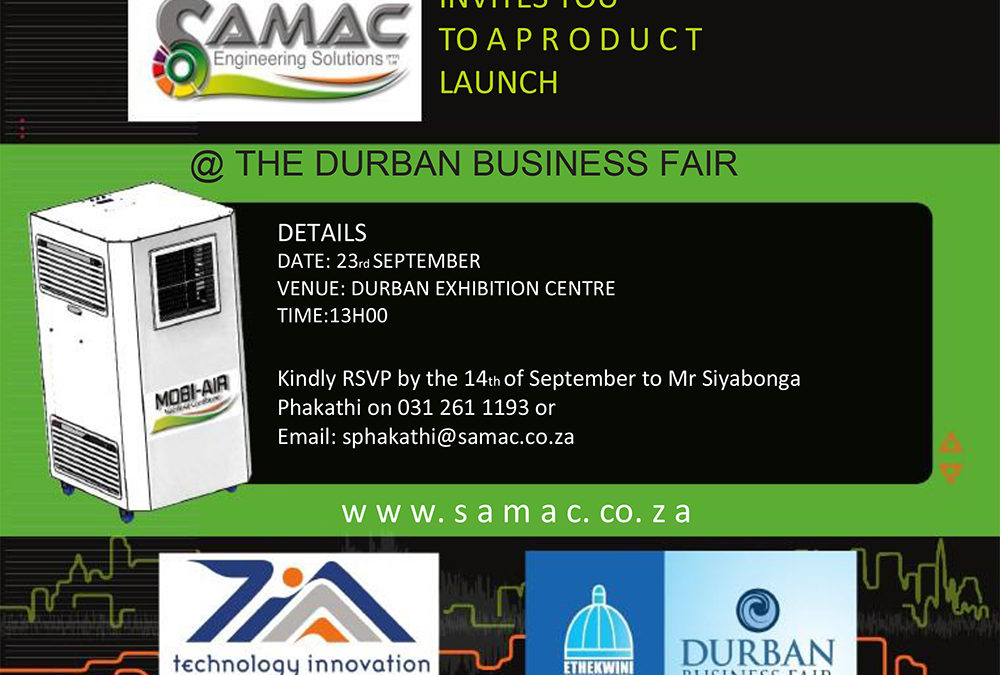 Samac Product Launch @ The Durban Business Fair